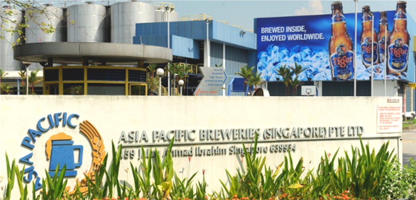 Birth of Asia Pacific Breweries Singapore