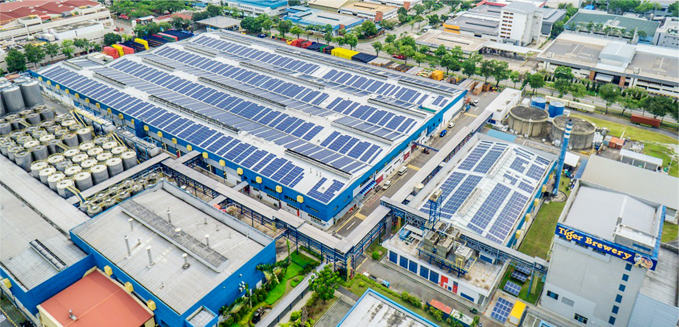 Leading the way with solar power