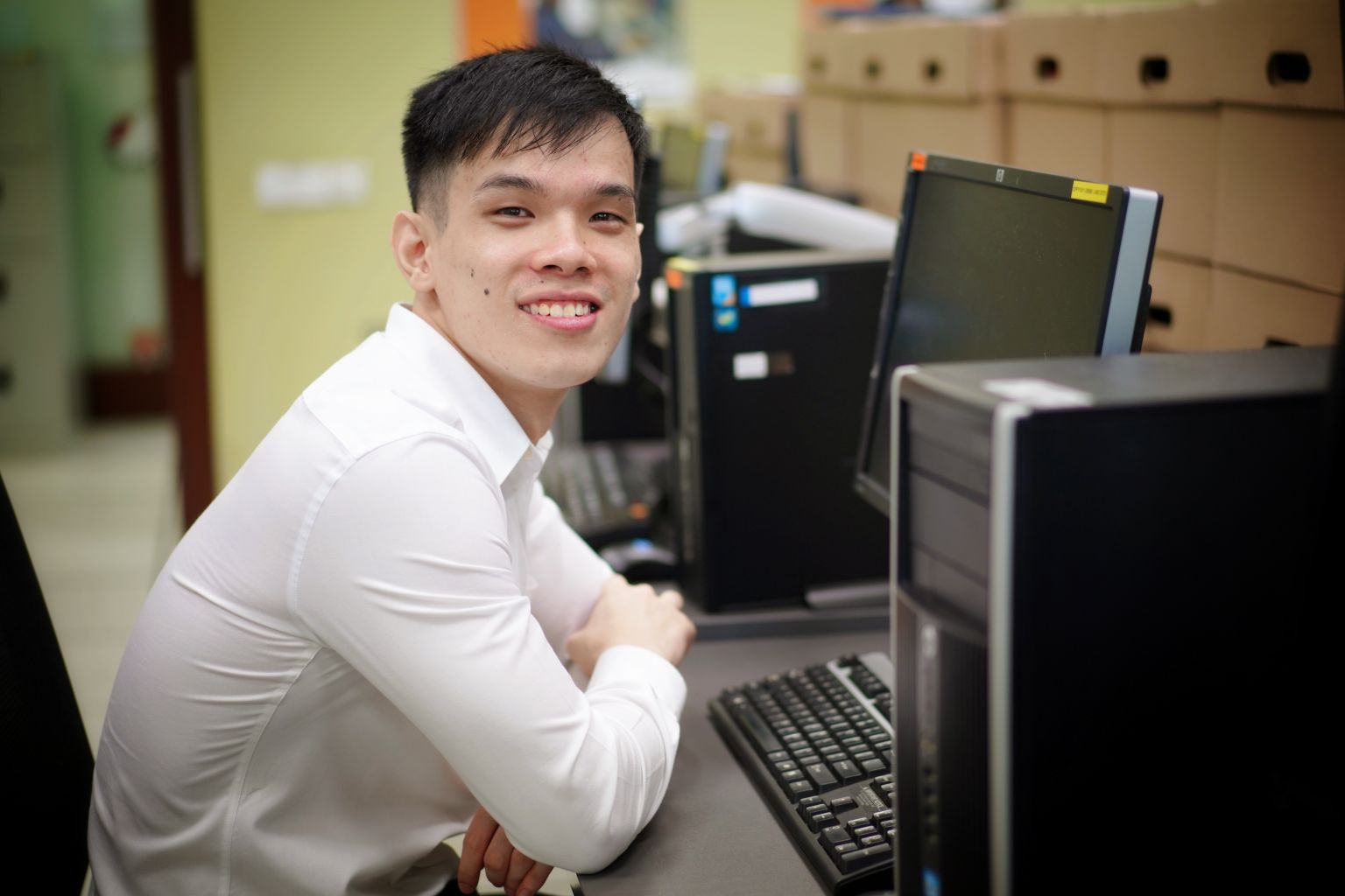 The Straits Times: NUS undergrad with cerebral palsy plans on helping others like him