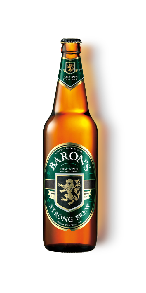 Baron's Strong Brew Bottle