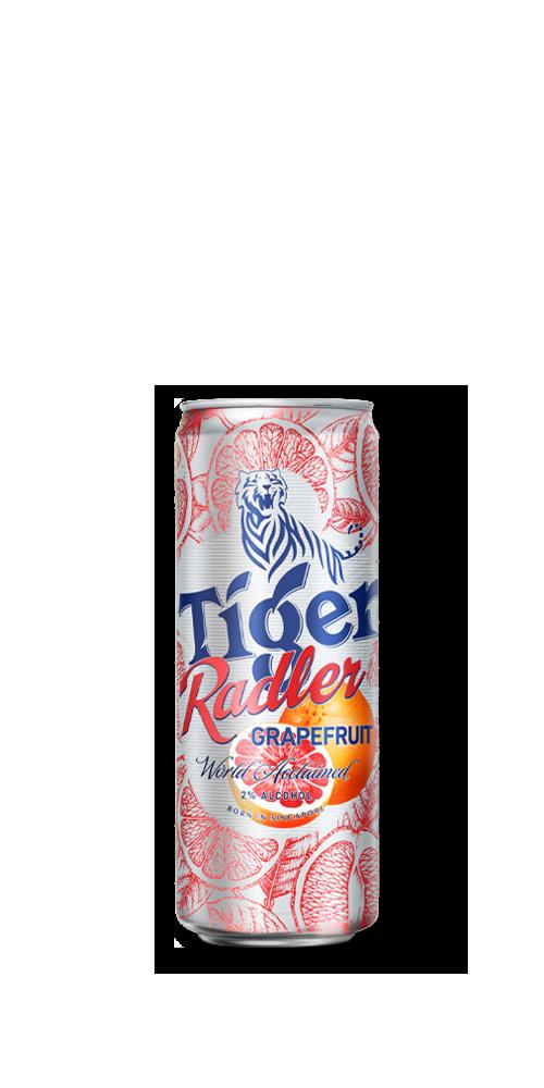 Tiger Radler Grapefruit Bottle
