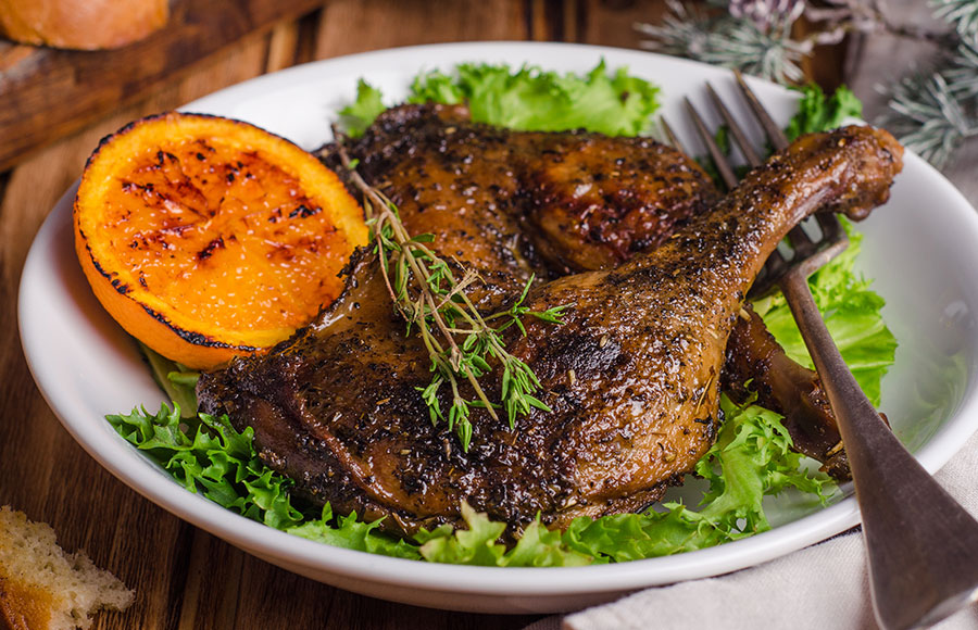 Spiced Confit Duck