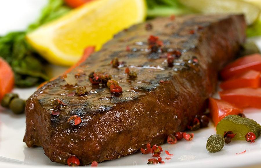 Spicy Grilled New York Steak